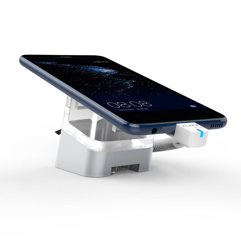 Support de sécurité d'affichage de téléphone portable avec télécommande IR