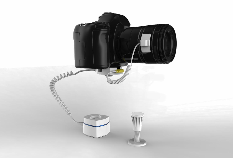 Stand autonome de sécurité d'affichage de la caméra