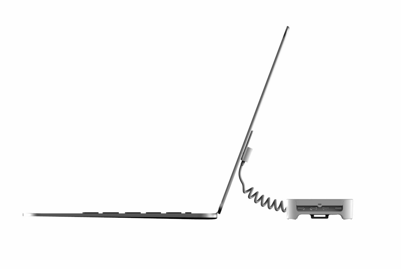 Dispositif d'affichage de sécurité pour ordinateur portable